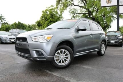2012 Mitsubishi ASX XA MY12 2WD Silver 6 Speed Constant Variable Wagon Earlville Cairns City Preview