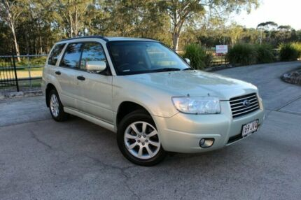 2007 Subaru Forester 79V MY08 X AWD Columbia Gold 4 Speed Automatic Wagon Capalaba West Brisbane South East Preview