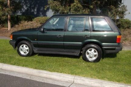 1997 Land Rover Range Rover HSE Green 4 Speed Automatic Wagon Hampton East Bayside Area Preview