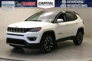 2017 Jeep Compass Limited 4WD*Leather*Nav*