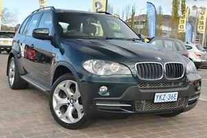 2010 BMW X5 E70 MY11 xDrive30d Steptronic Green 8 Speed Sports Automatic Wagon Pearce Woden Valley Preview