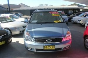 2010 Kia Grand Carnival VQ MY11 SI Blue 6 Speed Automatic Wagon Mitchell Gungahlin Area Preview