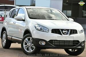 2013 Nissan Dualis J10W Series 4 MY13 TS Hatch 2WD Black 6 Speed Manual Hatchback Knoxfield Knox Area Preview