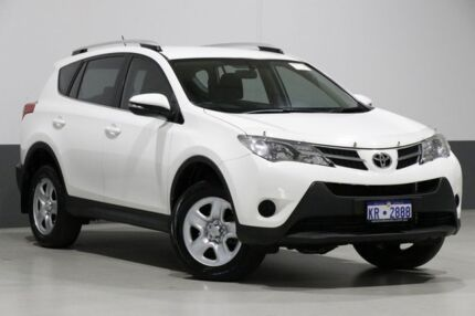 2014 Toyota RAV4 ASA44R MY14 Upgrade GX (4x4) White 6 Speed Automatic Wagon Bentley Canning Area Preview