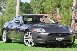 2008 Jaguar XK X150 Pearl Grey 6 Speed Sports Automatic Coupe St James Victoria Park Area Preview