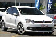 2012 Volkswagen Polo 6R MY13 GTI DSG White 7 Speed Sports Automatic Dual Clutch Hatchback Nundah Brisbane North East Preview
