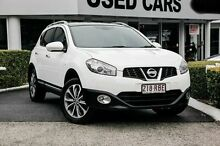 2010 Nissan Dualis J10 Series II MY2010 Ti X-tronic AWD White 6 Speed Constant Variable Hatchback Taringa Brisbane South West Preview