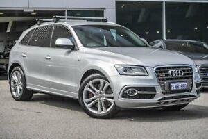 2014 Audi SQ5 8R MY14 TDI Tiptronic Quattro Silver 8 Speed Sports Automatic Wagon Osborne Park Stirling Area Preview