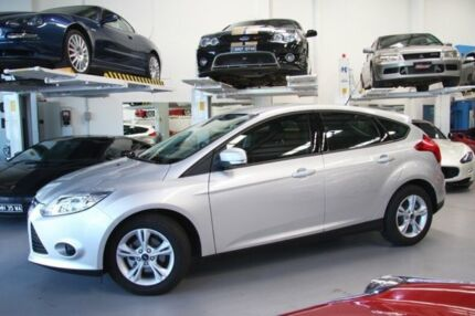 2015 Ford Focus LW MKII MY14 Trend PwrShift Silver 6 Speed Sports Automatic Dual Clutch Sedan Beckenham Gosnells Area Preview
