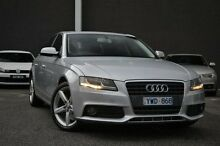 2012 Audi A4 B8 8K MY12 Multitronic Silver 8 Speed Constant Variable Sedan Burwood Whitehorse Area Preview