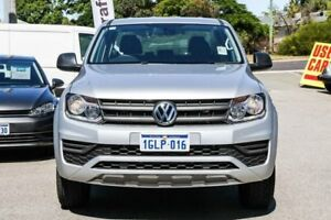 2018 Volkswagen Amarok 2H MY18 TDI420 4MOTION Perm Core Silver 8 Speed Automatic Utility Myaree Melville Area Preview