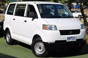 2010 Suzuki APV White 5 Speed Manual Van Berwick Casey Area Preview