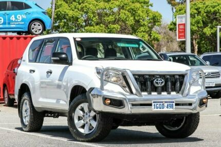 2015 Toyota Landcruiser Prado White Sports Automatic Wagon Welshpool Canning Area Preview