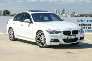 2013 BMW 328i F30 MY0813 M Sport White 8 Speed Sports Automatic Sedan