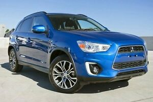 2016 Mitsubishi ASX XB MY15.5 LS 2WD Blue 6 Speed Constant Variable Wagon Nunawading Whitehorse Area Preview
