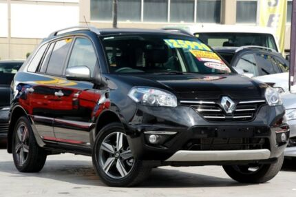 2014 Renault Koleos H45 Phase III Bose Black 1 Speed Constant Variable Wagon Windsor Brisbane North East Preview