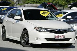 2010 Subaru Impreza G3 MY10 RS AWD Special Edition Crystal White 4 Speed Sports Automatic Hatchback Toowong Brisbane North West Preview
