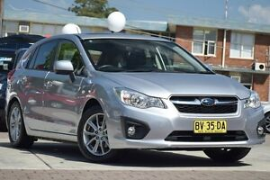 2014 Subaru Impreza MY14 2.0I-L (AWD) Silver Continuous Variable Hatchback Waitara Hornsby Area Preview