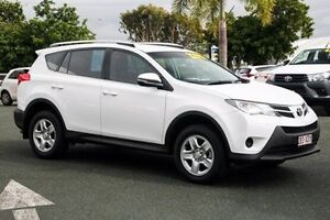 2014 Toyota RAV4 ZSA42R MY14 GX 2WD Glacier White 7 Speed Constant Variable Wagon Noosaville Noosa Area Preview