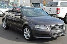 2009 Audi A3 8P Grey 7 Speed Sports Automatic Dual Clutch Convertible Brookvale Manly Area Preview