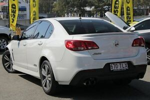 2013 Holden Commodore VF MY14 SS Heron White 6 Speed Manual Sedan Springwood Logan Area Preview