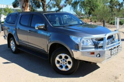 2012 Holden Colorado RG MY13 LTZ Crew Cab Grey 6 Speed Sports Automatic Utility Thebarton West Torrens Area Preview