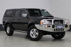 2013 Nissan Navara D22 Series 5 ST-R (4x4) Black 5 Speed Manual Dual Cab Pick-up Bentley Canning Area Preview