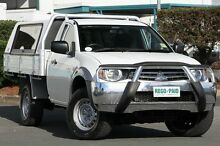 2011 Mitsubishi Triton MN MY12 GLX White 5 Speed Manual Cab Chassis Acacia Ridge Brisbane South West Preview