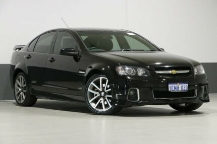 2012 Holden Commodore VE II MY12 SS-V Black 6 Speed Manual Sedan Bentley Canning Area Preview