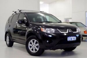 2007 Mitsubishi Outlander ZG MY07 VR Black 6 Speed Sports Automatic Wagon Myaree Melville Area Preview