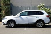 2016 Mitsubishi Outlander ZK MY16 Exceed 4WD White 6 Speed Sports Automatic Wagon Morphett Vale Morphett Vale Area Preview