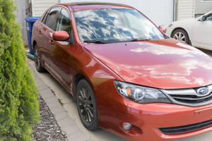 2011 Subaru Impreza touring package Sedan