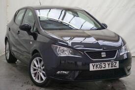 2013 SEAT Ibiza 1.4 TOCA 5d 85 BHP Petrol black Manual