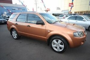 2006 Ford Territory TURBO SY Orange 6 Speed Kingsville Maribyrnong Area Preview