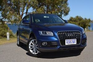 2013 Audi Q5 8R MY13 TDI S tronic quattro Blue 7 Speed Sports Automatic Dual Clutch Wagon Claremont Nedlands Area Preview