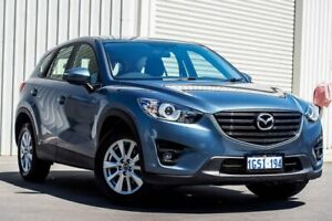 2015 Mazda CX-5 KE1022 Maxx SKYACTIV-Drive AWD Sport Blue 6 Speed Sports Automatic Wagon