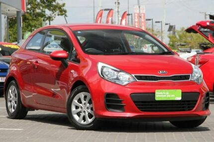 2014 Kia Rio UB MY14 S Red 4 Speed Sports Automatic Hatchback