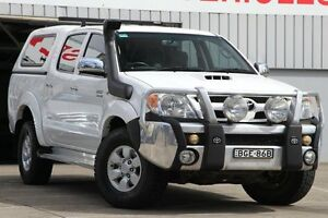 2008 Toyota Hilux KUN26R 07 Upgrade SR5 (4x4) White 4 Speed Automatic Dual Cab Pick-up Mosman Mosman Area Preview
