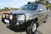 2003 Toyota Landcruiser Prado KZJ120R GXL Gold 4 Speed Automatic Wagon West Footscray Maribyrnong Area Preview