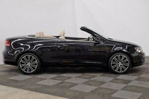 2013 Volkswagen EOS 1F MY13.5 155TSI DSG Black 6 Speed Sports Automatic Dual Clutch Convertible