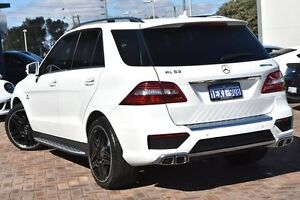 2014 Mercedes-Benz ML63 W166 AMG SPEEDSHIFT DCT White 7 Speed Sports Automatic Dual Clutch Wagon Osborne Park Stirling Area Preview