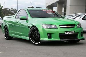2008 Holden Ute VE SS V Green 6 Speed Manual Utility Gymea Sutherland Area Preview