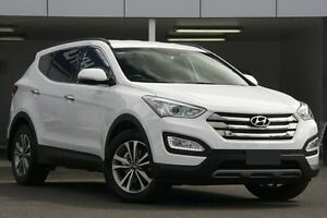 2014 Hyundai Santa Fe DM MY15 Elite CRDi (4x4) Creamy White 6 Speed Automatic Wagon Wolli Creek Rockdale Area Preview