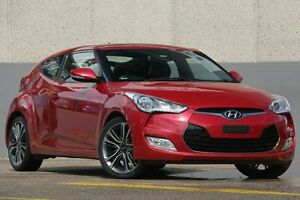 2015 Hyundai Veloster FS4 Series II + Coupe D-CT Red 6 Speed Sports Automatic Dual Clutch Hatchback Wolli Creek Rockdale Area Preview