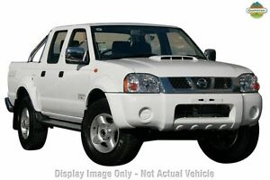 2012 Nissan Navara D22 S5 ST-R White 5 Speed Manual Utility Cannington Canning Area Preview