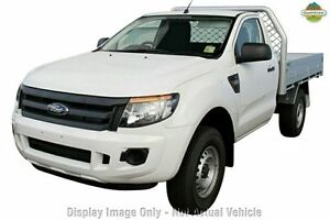 2015 Ford Ranger PX XL 4x2 Hi-Rider Metropolitan Grey 6 Speed Sports Automatic Cab Chassis Greenacre Bankstown Area Preview