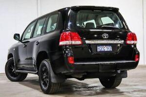 2011 Toyota Landcruiser VDJ200R MY10 GXL Black 6 Speed Sports Automatic Wagon