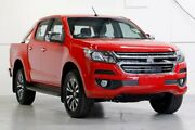 2018 Holden Colorado RG MY18 LTZ Pickup Crew Cab Red 6 Speed Sports Automatic Utility Capalaba Brisbane South East Preview