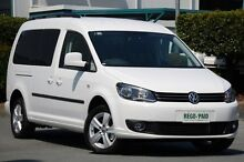 2012 Volkswagen Caddy 2K MY12 TDI250 Wagon Maxi Life LWB DSG Comfortline White 7 Speed Sports Automa Acacia Ridge Brisbane South West Preview