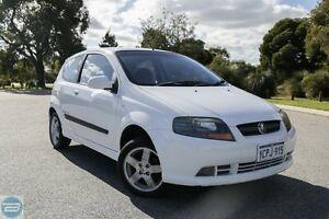 2007 Holden Barina TK MY07 White 5 Speed Manual Hatchback Hillman Rockingham Area Preview